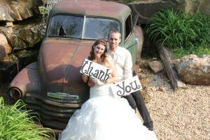Using picture frames or expression boars is one of the major wedding trends