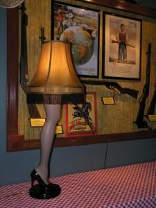 Bella Vista, AR location shows leg from The Christmas Story movie