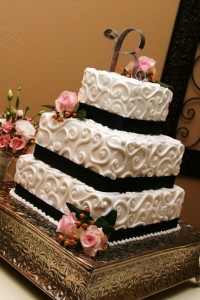 Don't cut the cake till you're ready to say good-bye.