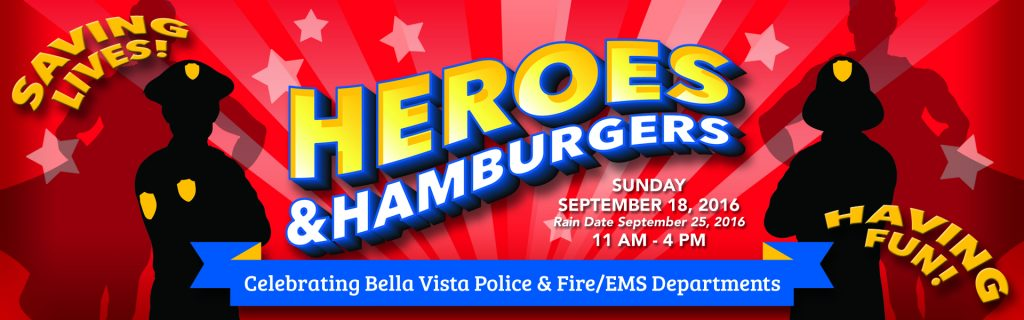 Heroes and Hamburgers in Bella Vista, AR